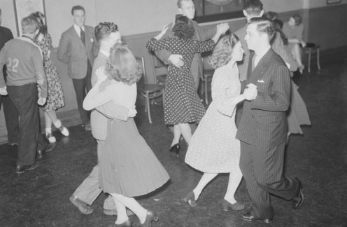 You Can See Fun, Activity, and Fellowship at a Square Dance.