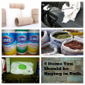 5 Items You Should Be Buying in Bulk