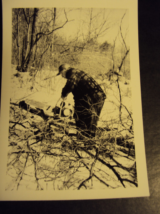 Dad was a superb hunter, and a great teacher. A civil engineer, he loved farming.