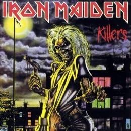 "Derek Riggs Iron Maiden ""Killers"" Acrylic"