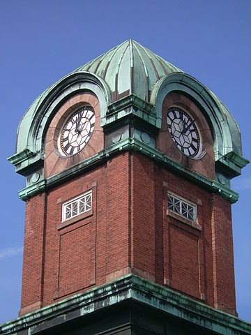Sault Ste. Marie Museum clock tower (former Post Office), Sault Ste. Marie, Ontario.