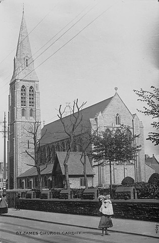 St. James Church, Cardiff, 1905
