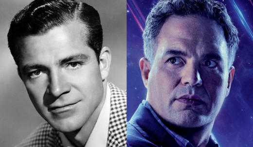Dana Andrews was 47 and Mark Ruffalo 43 when they started shooting their movies.