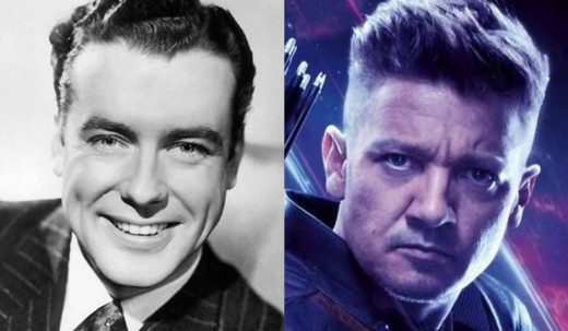 Richard Greene was 38 years old in the first Avengers movie, Jeremy Renner was 39.