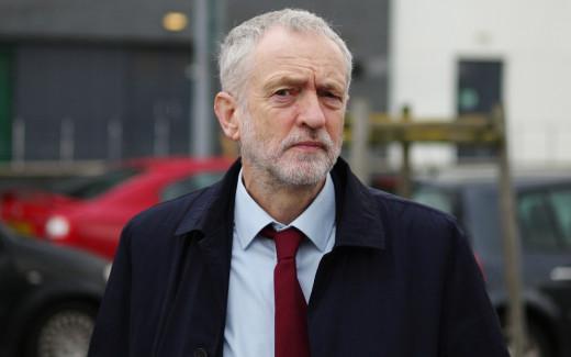 Former Labour Leader:  Jeremy Corbyn.
