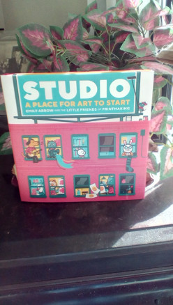 Art, Imagination, and a Studio Can be Anywhere With This Entertaining Picture Book
