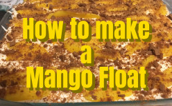 How to make a Mango Float - Easy Recipe