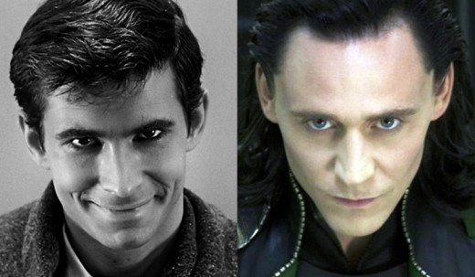 Anthony Perkins was only 24, a virtual newcomer when he got the role of Loki. Tom Hiddleston was 29.