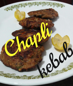 Chapli Kebab Is a Mughlai-Influenced Pashtun-Style Minced Kebab, Usually Made From Ground Beef, Mutton or Chicken