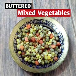 How to Make Buttered Mixed Vegetables