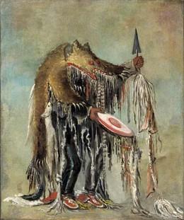Medicine Man [Blackfoot/Siksika]  - George Catlin Painting 1830s
