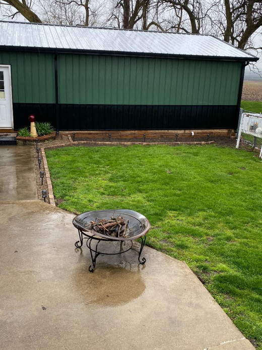 Stay-cation idea: We are going to upgrade the fire pit this year and enjoy several nights on the patio.