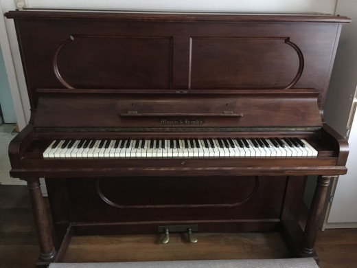 A Well Loved Instrument (over 100 years old)