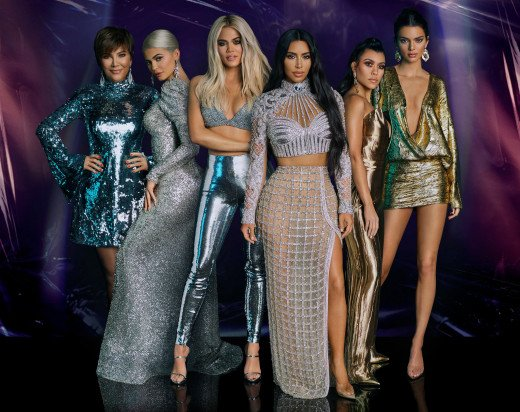 The Kardashian family are major social media influencers, models, and business moguls