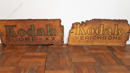 Kodak Film Steel Sign