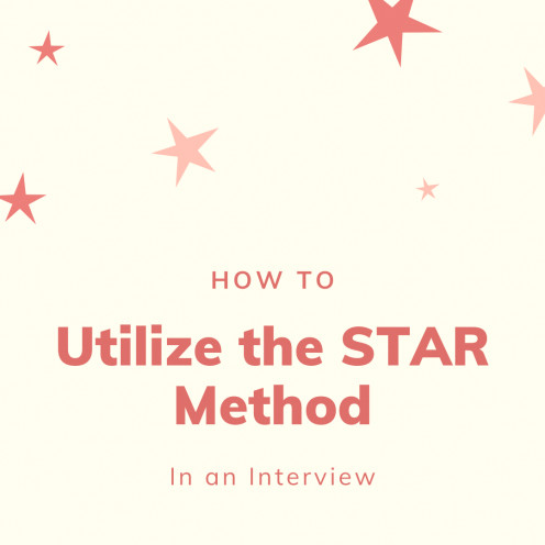 Answering Interview Questions Using the STAR Method