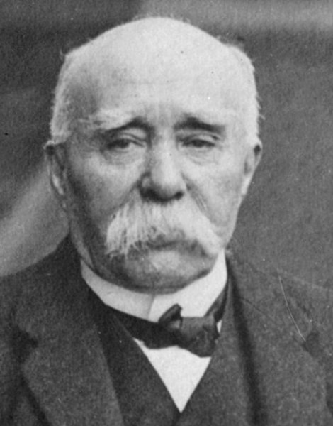 French Prime Minister George Clemenceau, circa 1919 https://www.loc.gov/pictures/item/ggb2006003788/