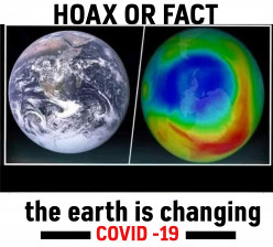 Evidence of the Ozone Layer Improving Due to Covid 19 Deception or Facts