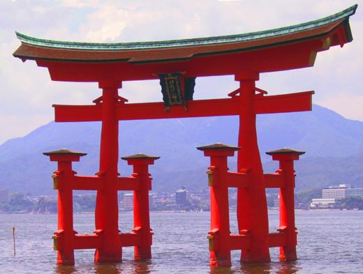 A Shinto gate
