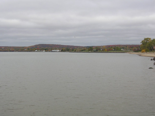 View of North Bay from Lake Nipissing