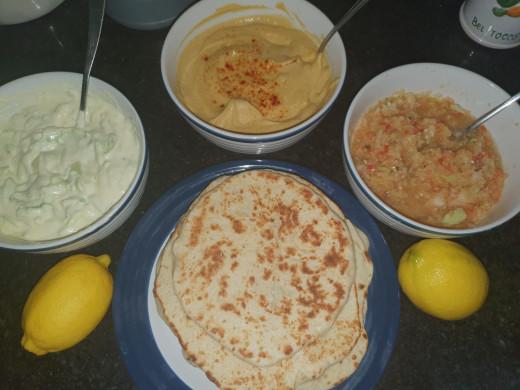 recipe for pita bread