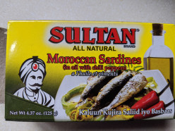 Sultan Moroccan Sardines With Chili Peppers