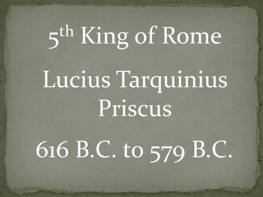 5th King of Rome