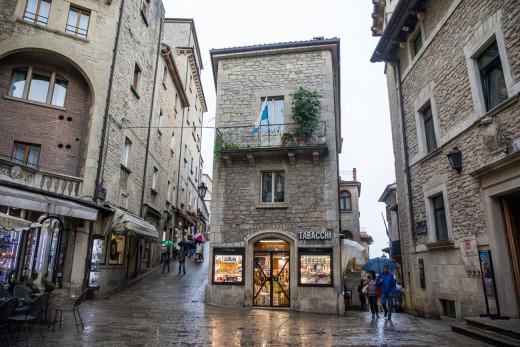 Street of San Marino