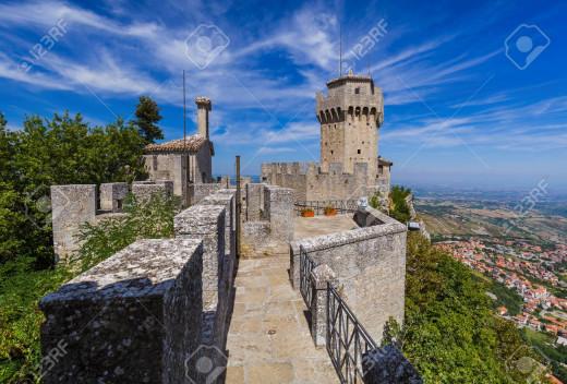 Tower Steps San Marino