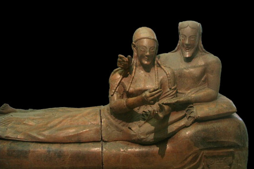 Bride and Groom Sarcophagus
