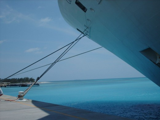 Anchored in Grand Turk 2008