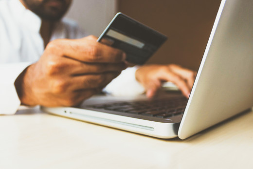 Payments made easy with credit and debit cards