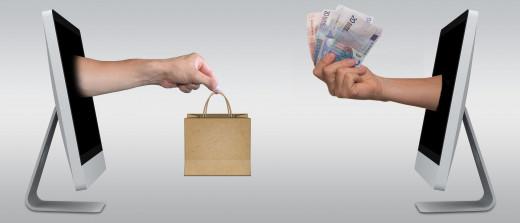 Shopping made easy through digital money over the internet.