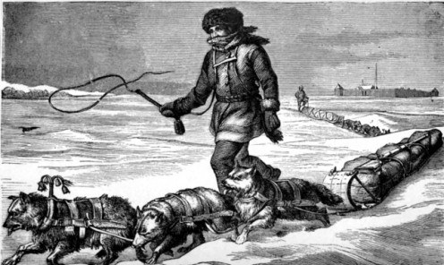 Winter couriers of the North-West Fur Company, 'Eleven years in the Rocky Mountains and a life on the frontier'.