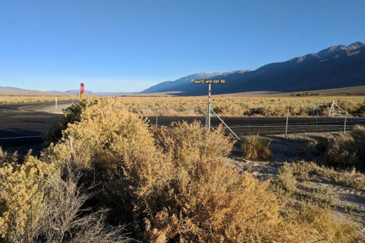 White Mountain Estate Rd and Route 6, in Mono County, California, where an eyewitness reported seeing her last.
