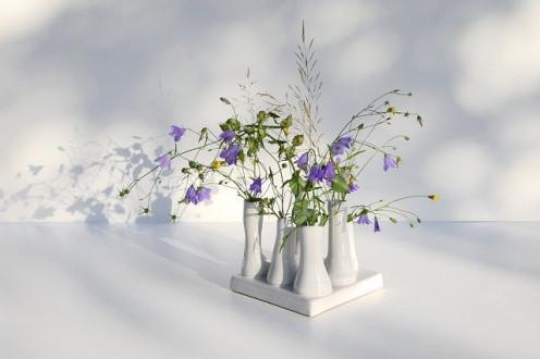 Wildflower table display