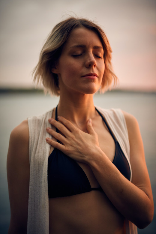 Take care of your heart and fight depression with yoga