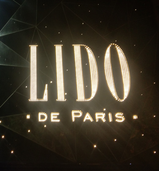 Entrance of the World-Famous Lido Show in Paris