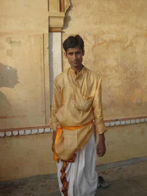 Male in Dhoti Kurta and Kamarbandh: Uncommon Dresses 3 Jaipur