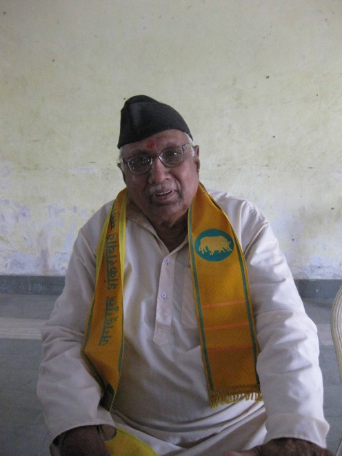 Mr. Shekhawat in Kurta, Topi and Dupatta