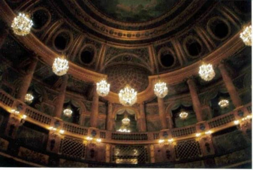 Opera room inside Versailles