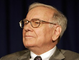 Warren Buffett - source: http://www.flickr.com/photos/trackrecord/178633669/ creative commons licence.