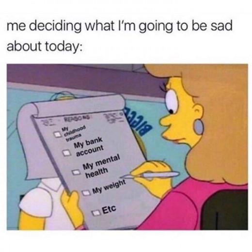Decisions, decisions.