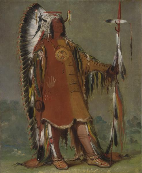 Second Chief, Four Bears 1832