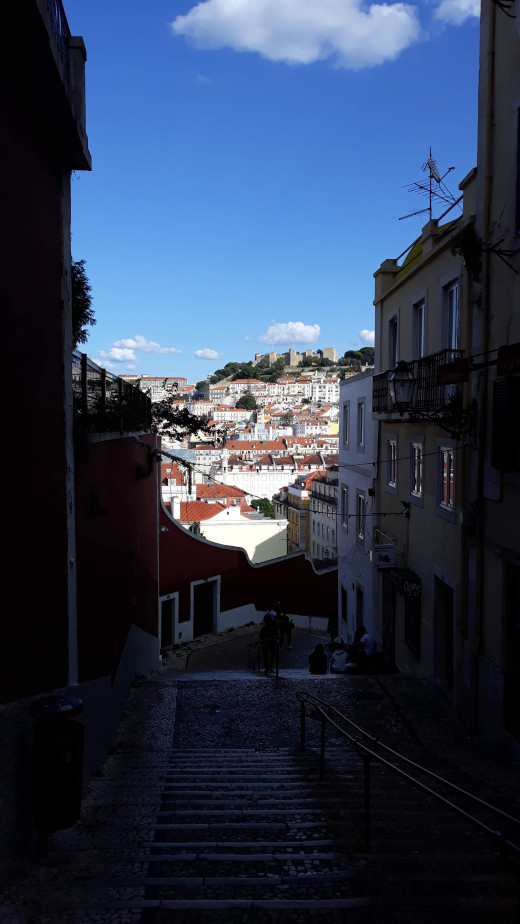 Wiev of Lisbon from one of the hills. Own photo