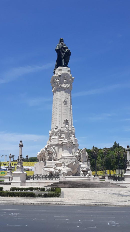 Marques do Pombal. The man who rebuilt the city.