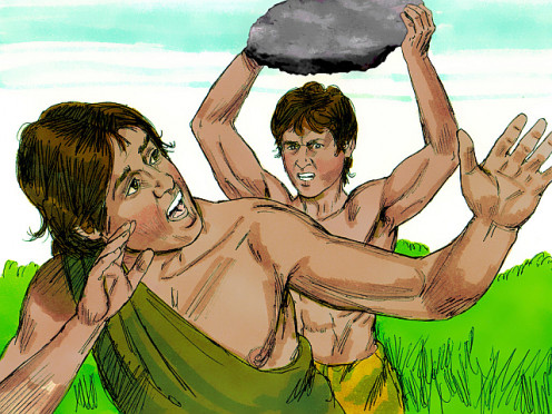 Cain murders Abel
