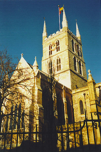 Southwark Cathedral. Taken from the south side.