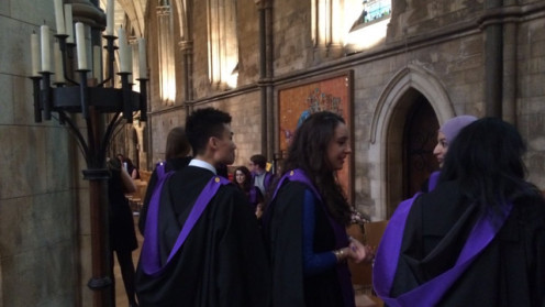 Southwark Cathedral Graduation King's College London Dental Institute