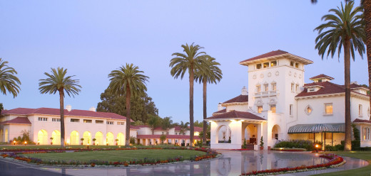 The Dolce Hayes Mansion is a romantic spot to stay in San Jose.